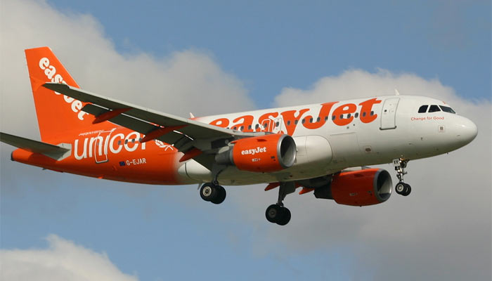 Airbus A319 Easyjet Unicef